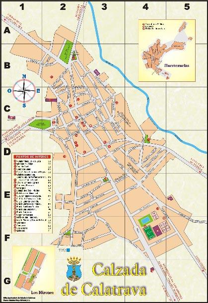 Mapa web - Plano de valdepenas ...